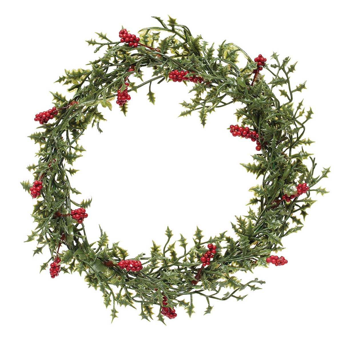 Natural Holly Mini Wreath 7 5 6 Inner Ring R7514 12 65 Zia Bella Fashions Fashion Jewelry Necklace Cuff Bracelet Threader Earrings Pewter Necklace Rings Cross Necklace Coral Peach Quartz Tahitian Waters Morrea
